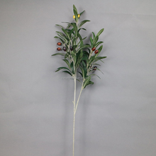 Artificial Olive Branch Silk Olive Branch Plastic Olive Branch