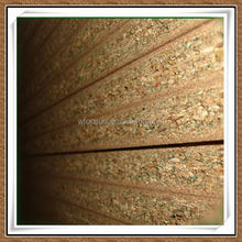 hot sale superior quality 15mm wood color faced particle board for decoration