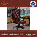 0061 Classic Wooden Frame Boss Luxury Executive Office Leather Chair