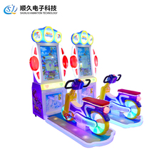 2017 update amusement equipment bike simulator racing games ICE RIDD for kids coin operated cycling arcade video game machine