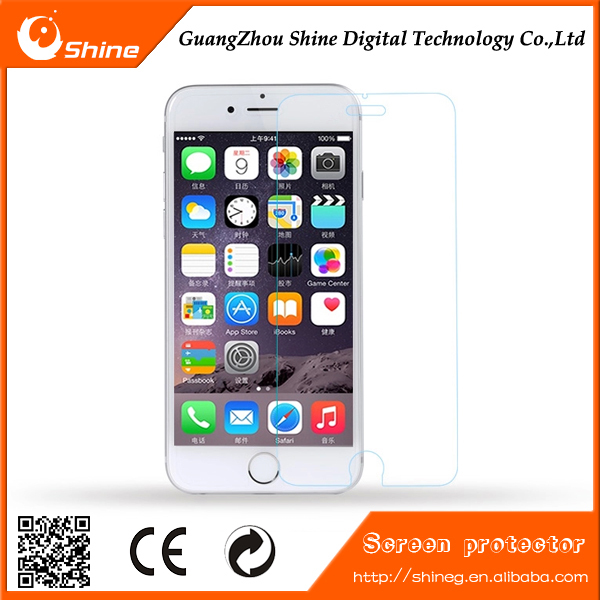 2016 Top Quality 9H 2.5D 0.3mm Nano Tech for tempered glass screen protector iphone 6s/6
