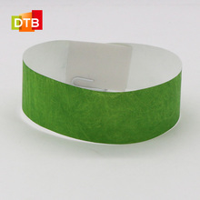 DTB High Frequency Disposable RFID Paper Wristband