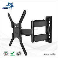 TV Wall Mount Bracket with Cable Management Eas to Installation for 65
