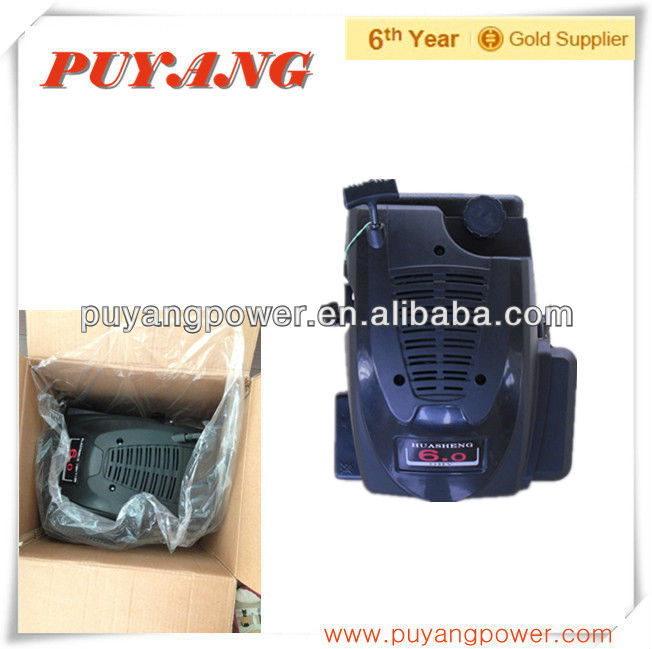 Gasoline engine with 6HP max power output and spare parts for sale