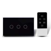 New product RF radio frequency technology wifi smart home touch light wall power switch