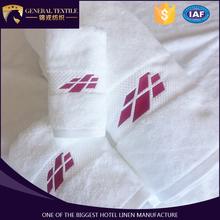 2017 new designed , fashionable hotel face , hand ,bath towel with pink embroidery