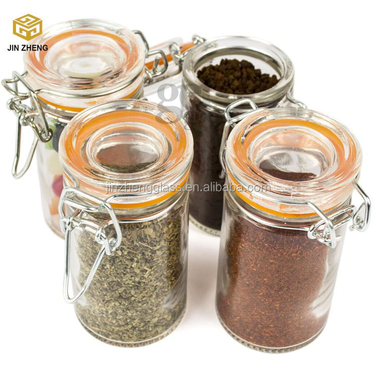 Hermetic Spice Glass Jars/bottles for Personalized Graduation Party