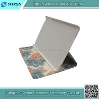 Wholesale hot salling popular stand pu leather flip case for IPAD AIR