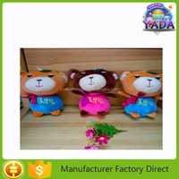 Attractive nice dancing bears stuffed plush soft toy doll for sale