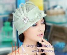 Sinamay Fabric with Unique Design Sinamay Hats for Women