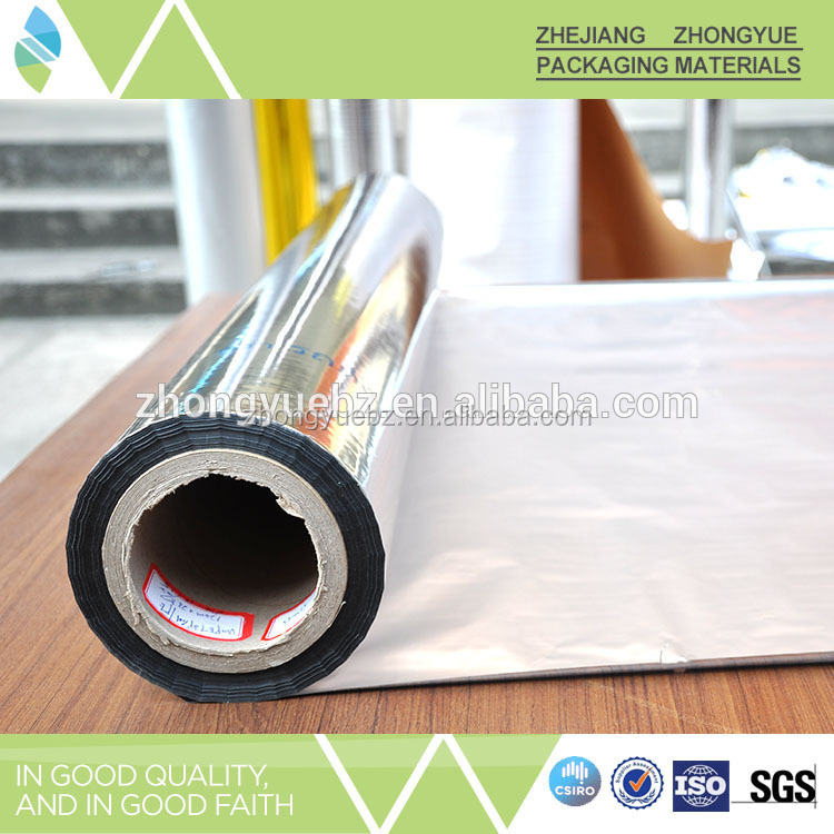 silver mpet foil film for bubble insulation insulation building material