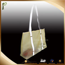 Popwide newest 2014 Mesh Beach Bag/custom tote bag