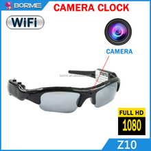 Smart 720p Full HD Wifi P2P Video Recorder Camera Sunglasses Spy Hidden Secretary Cameras