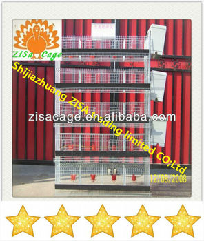 capacity 240 quails in one feedr quail battery cage
