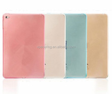 Clear tpu gel soft case skin cover for iPad mini 4, Transparent tpu cover for ipad mini 4