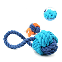 Pet Chew Ball Molar Teeth Cleaning Support Mixed Batch Rope Dog Toy