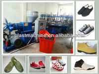 plastic PVC/TPR shoe making machine