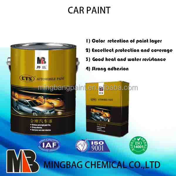Free samples 2k solid color white car paint