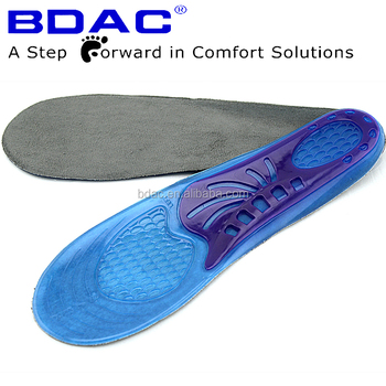 TPE gel comfortable sport shoe insoles foot pad insole