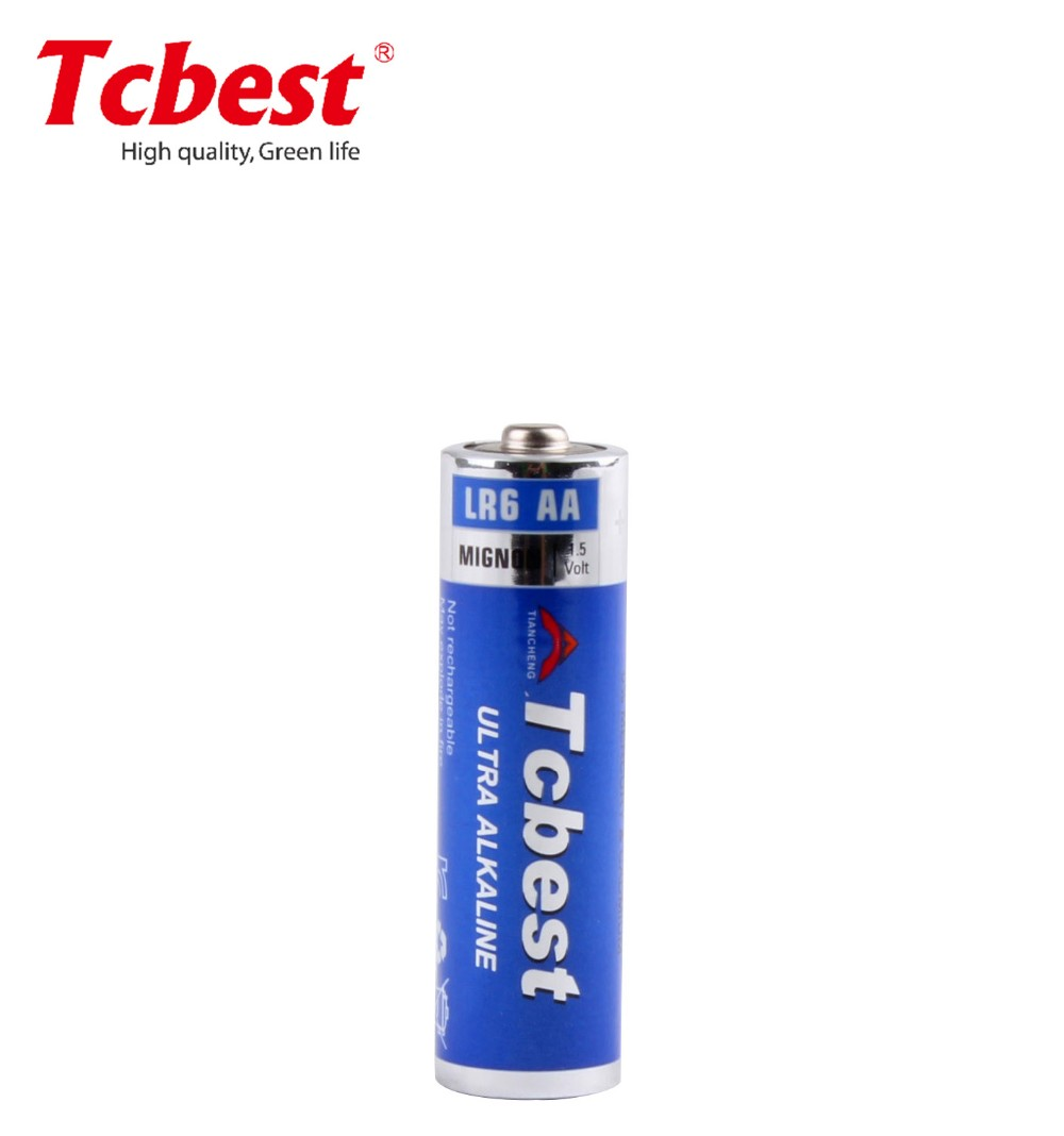 Dry Battery LR6 Am3 1.5V AA Alkaline Battery with CE MSDS approved