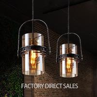 Nordic art lighting European glass Pendant lamp for Bar Cafe