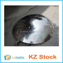 mirror polish stainless steel hollow hemisphere half ball with different size