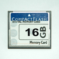 Wholesale Fast Speed 16GB Compact Flash CF Memory Card with Custom CID Sevice
