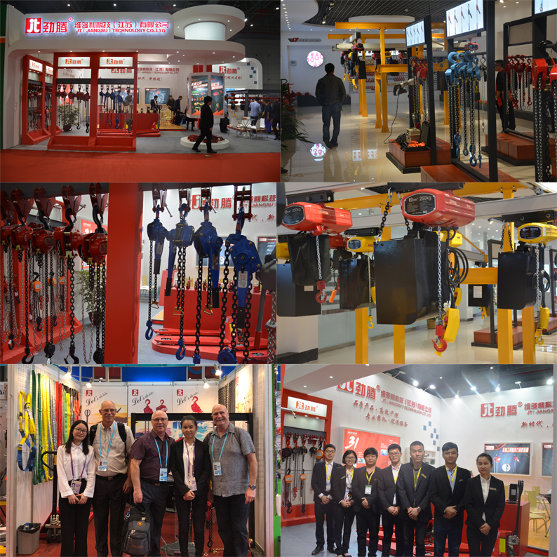 JenTan workshop material handling jib crane KBK crane usage light weight electric chain hoist