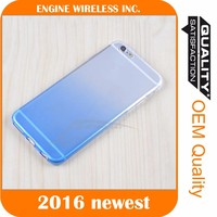Gradient TPU Edge Bumper Rubber Silicone Skin Cove for samsung NOTE 3 soft TPU CASE