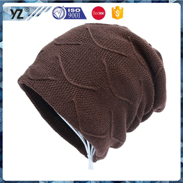 Hot selling attractive style fancy printed knit hats for 2016