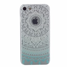 Flower Printing Emboss Sublimation moblie phone case for iphone 7