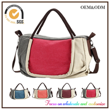 Sale Online Popular High Quality canvas bag wholesale 2016 Stylish Fashion Unisex Travel Handbag unisex Canvas handbag for women