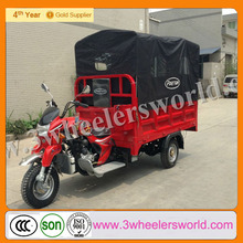 China New Design 250cc Air Cooling Bajaj Reverse Cargo Trike for sale