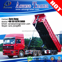 2 Axles Tipper Trailer /Self Dumping/Dump/Dumper truck for sale