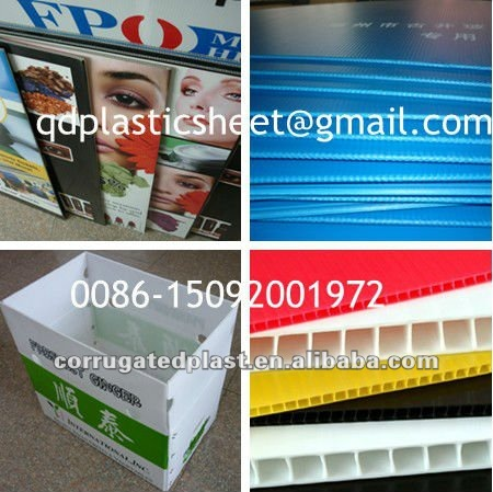 Polypropylene PP Double Layer Plastic Sheets