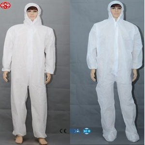 FDA approved Xiantao Lijun OEM factory disposable overalls/SMS Coveralls/workwear overall