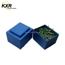 CE, ROHS approved PCB mounted 220V ac 9V dc converter transformer