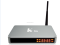 Metal case K5 android tv box amlogic S905 Quad core 2GB 16GB KODI16.1 WIFI 2.4G+5G 1000M 4K UHD