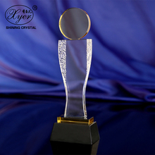 DIY Crystal Competitions Awards High quality Crystal Trophy Award For The Best Employee The Best Team Company Annual Prize