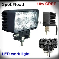 18W 4inch 12V 24V CREE LED Light Bar Off Road JEEP SUV ATV 4WD 4X4 Truck LED Bar Light LED Work Working Driving Light