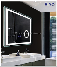 led lighted bathroom wall mirror