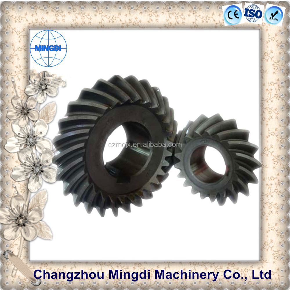 tractor trucks steel material bevel gear Helical Gear Wheel /Bevel Spiral Parts Transmission Gear for motorcycle engine parts