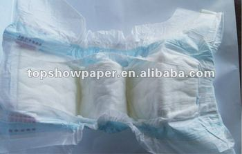 2012 Promotional Ultrathin soft non-woven diapers disposable