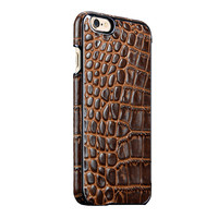 Crocodile pattern leather blank phone case for iPhone 6s