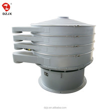 Good vibrating screen filter machine for salt with with caster