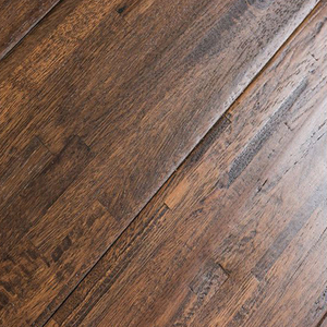 Quality Natural Fingerjoint Solid Hickory Wood Flooring