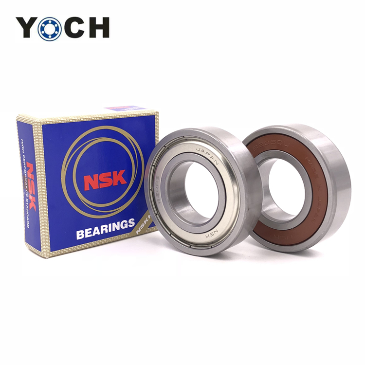 NSK original ball bearing 61805 thin section bearing deep groove ball bearing