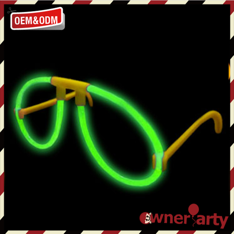 Economical custom design fluorescent children glasses