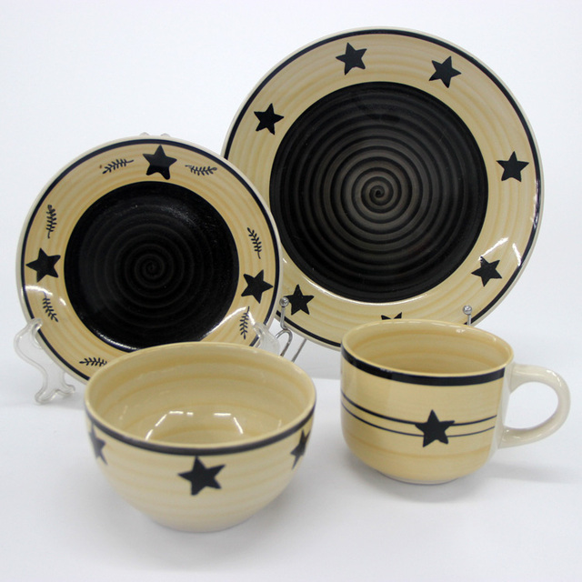 colorful mexican ceramic dinnerware sets & 12pcs mexican dinnerware sets_Yuanwenjun.com