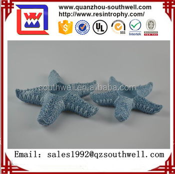 Custom home decor art artificial starfish statue